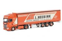 WSI Heebink Scania S Highline CS20H 4x2 with Curtainsider Trailer